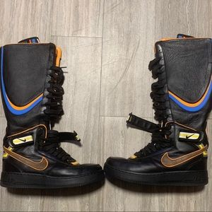 Nike AIr force 1 Boot Tisci Black
